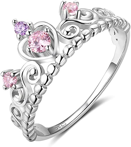 USA Seller Small Heart Ring Sterling Silver 925 Best Deal CZ Jewelry Size 7