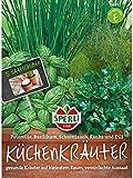 Küchenkräuter-Kombination, 5 Saatscheiben