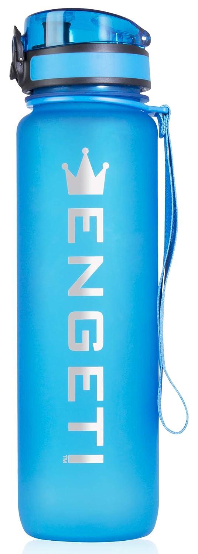Amazon.com: Botella de agua deportiva a prueba de fugas, 32 ...