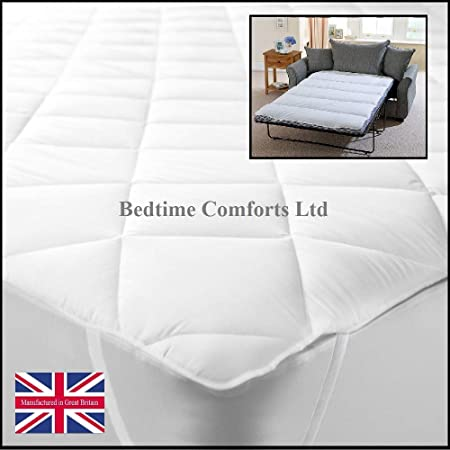 Materasso Per Divano Letto 140 X 180.Bedtime Comforts Ltd Coprimaterasso Trapuntato Per Divano Letto