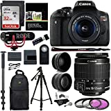 Cheap Canon EOS Rebel T6i Video Creator Kit with 18-55mm Lens + Rode Video GO Microphone + Sandisk 32GB Class 10 + Polaroid .43x HD Wide Angle Lens + Polaroid 2.2X HD Telephoto Lens + Polaroid Accessory Kit