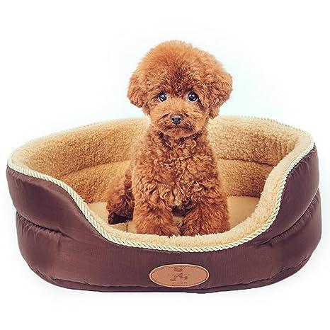 Bwiv - Cama para perro o gato, apta para invierno y verano, disponible en