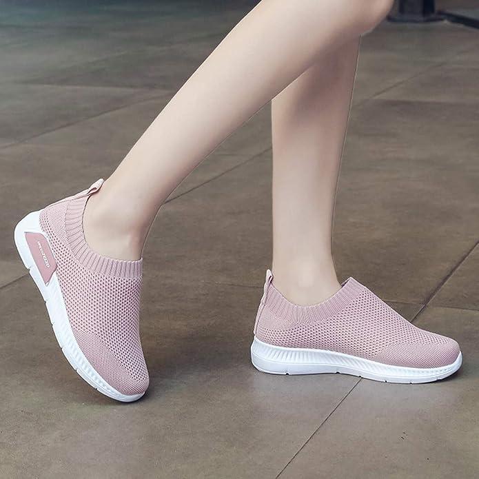 Amazon.com: LENXH - Zapatos de malla para mujer: Shoes
