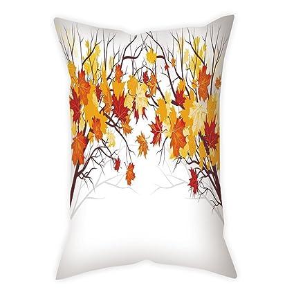 amazon com cotton linen throw pillow cushion cover fall decorations rh amazon com
