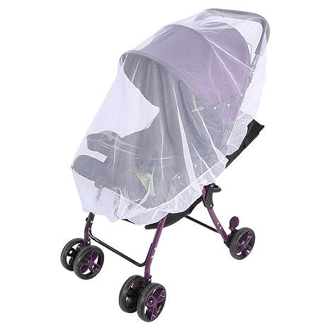 Zerodis Mosquito Net, bebé recién nacido carrito de bebé verano mosquitera red para cochecito de