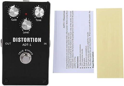 RiToEasysports Pedal de Efectos de Guitarra Distorsión Pratical ...