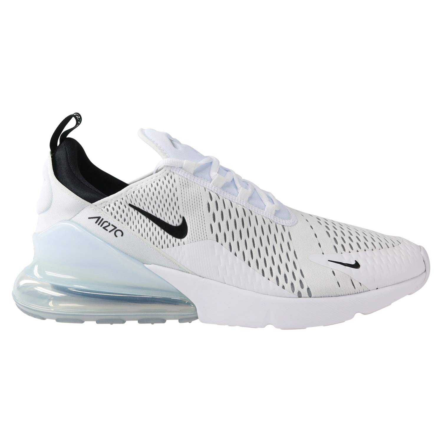 278f9c2132b74e Galleon - Nike Air Max 270 Men s Running Shoes White Black-White AH8050-100  (11.5 D(M) US)