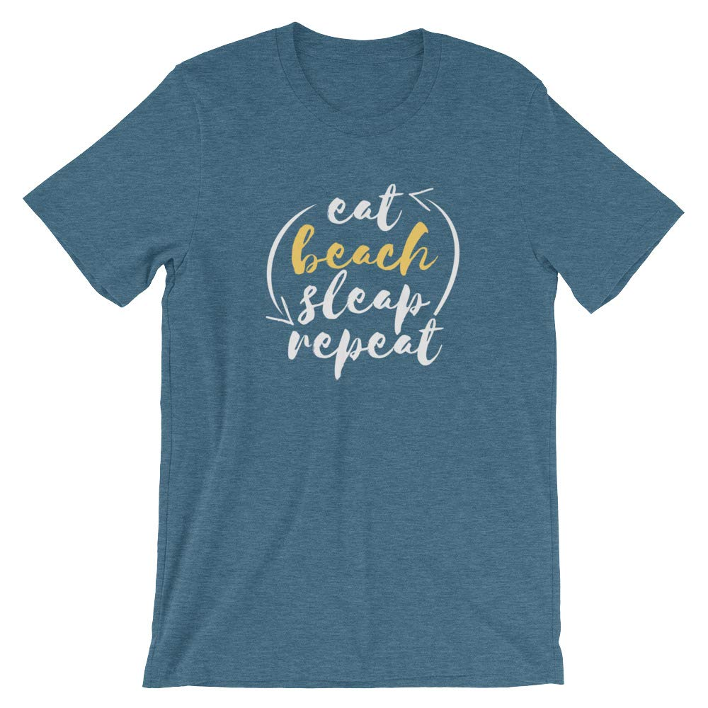 Vacation time Size S M L XL Plus Size Shirt for Summer Eat Beach Sleep and Repeat Chacha Outdoors T-Shirt