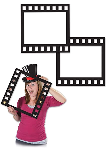 Amazon.com: Beistle 58047 Filmstrip Photo Fun Frames, 12\