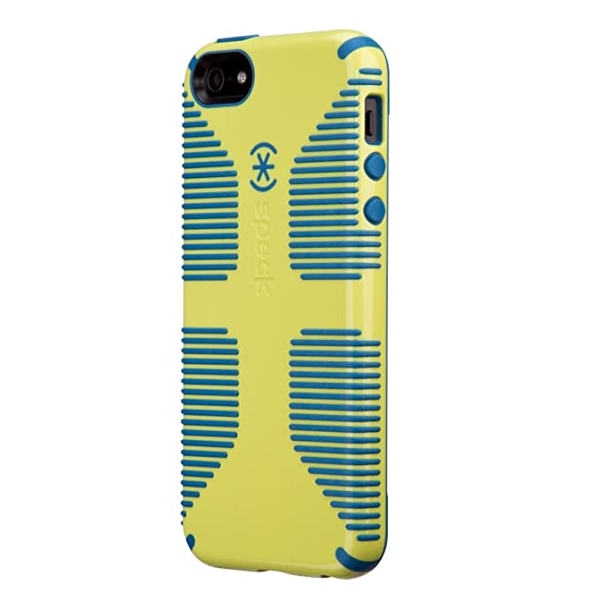 dc563795ff Amazon.com: Speck Products CandyShell Grip Case for iPhone 5 & 5S ...