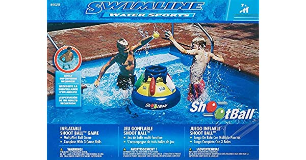 Amazon.com: Shootball Floating Pool Basketball Game Pool ...