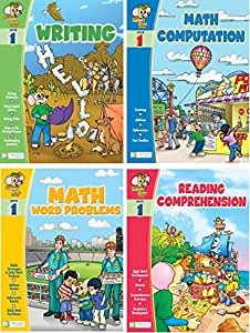 Amazon.com: Smart Alec (1st Grade) Four Pack Learning