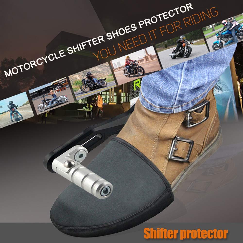 Protector de zapato de Moto,Protector Zapato Moto Cambio KKmoon Cubrezapatos Moto