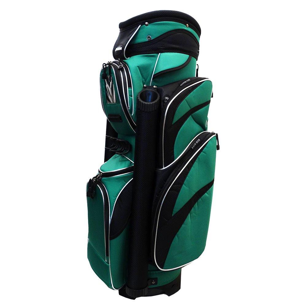 究極のデラックスゴルフカートバッグW / 14 way Dividerグリーン/ブラック小売$ 249.99   B01N1NVSZ3