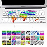 (US) Allytech(TM) Keyboard Cover Silicone Skin for MacBook Pro 13