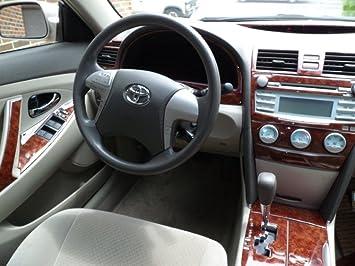 amazon com toyota camry interior burl wood dash trim kit set 2010 2011 automotive toyota camry interior burl wood dash trim kit set 2010 2011