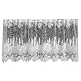 Heritage Lace Pinecone 60-Inch Wide by 30-Inch Drop Tier, Ecru Review