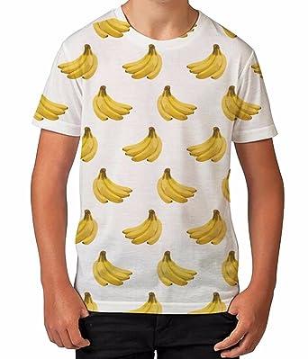 Bang Tidy Clothing Jungen T Shirt All Over Print Bananen Print