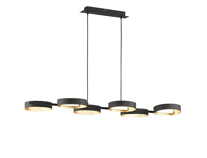 WOFI - Lámpara de interior para salón, colgante, lámpara ...