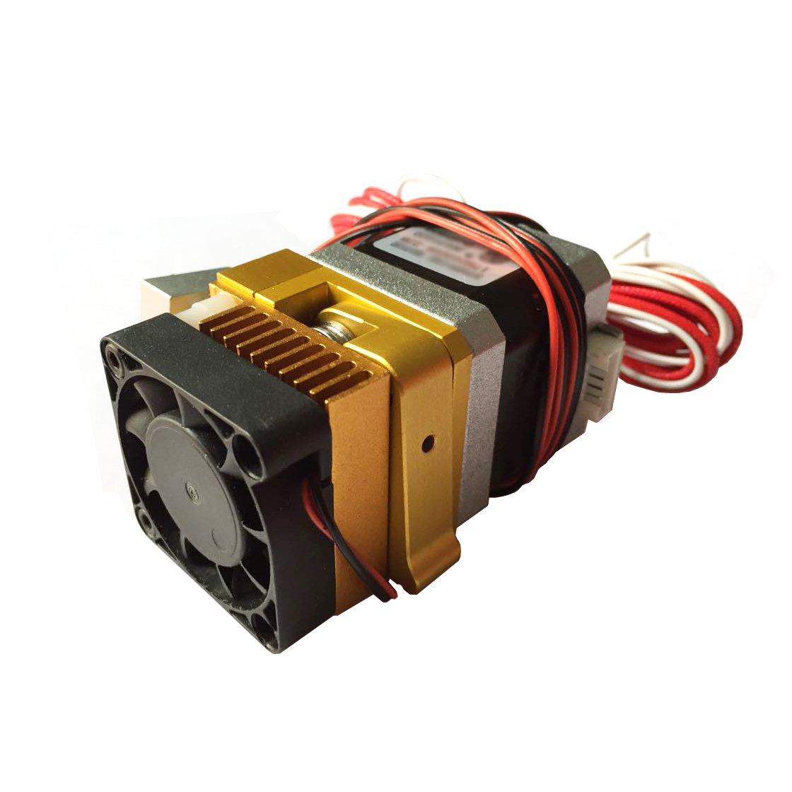 AptoFun MK8 Metal Extruder mit 0.4mm Dü se fü r 3D Printer Reprap Mendel MakerBot, Prusa i3 & Rework Kompatibel mit 1,75 mm ABS und PLA Filament Aptotec