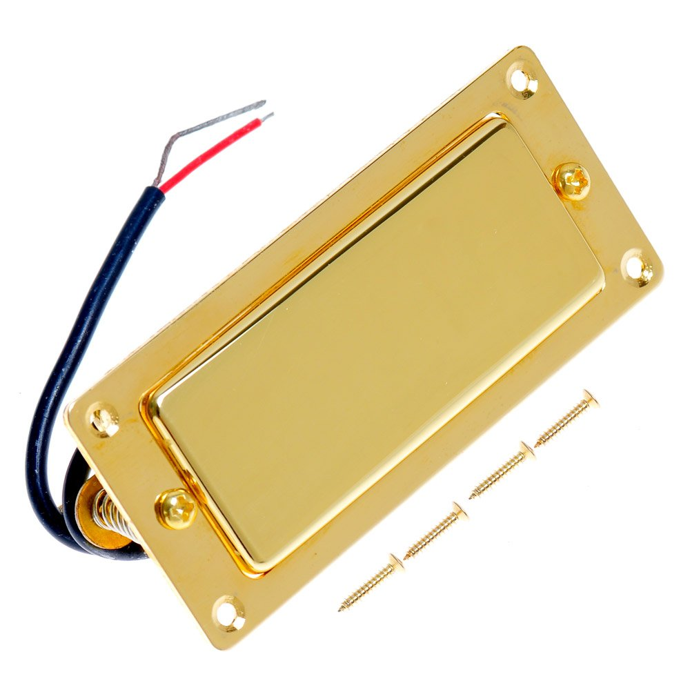 Belcat Electric Guitar Mini Humbucker Pickup Alnico V Gold Ltd