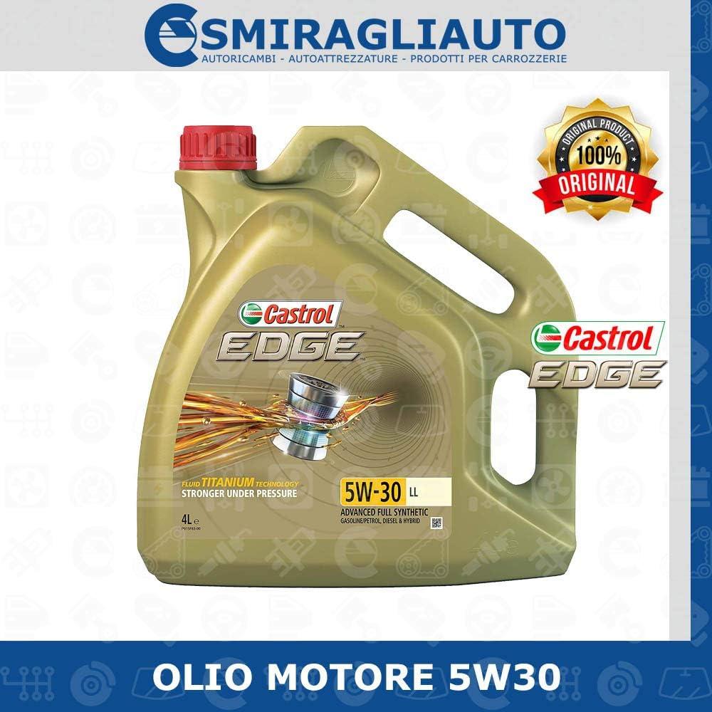 Castrol Edge 5w 30 Ll Engine Oil 4 Litres Auto
