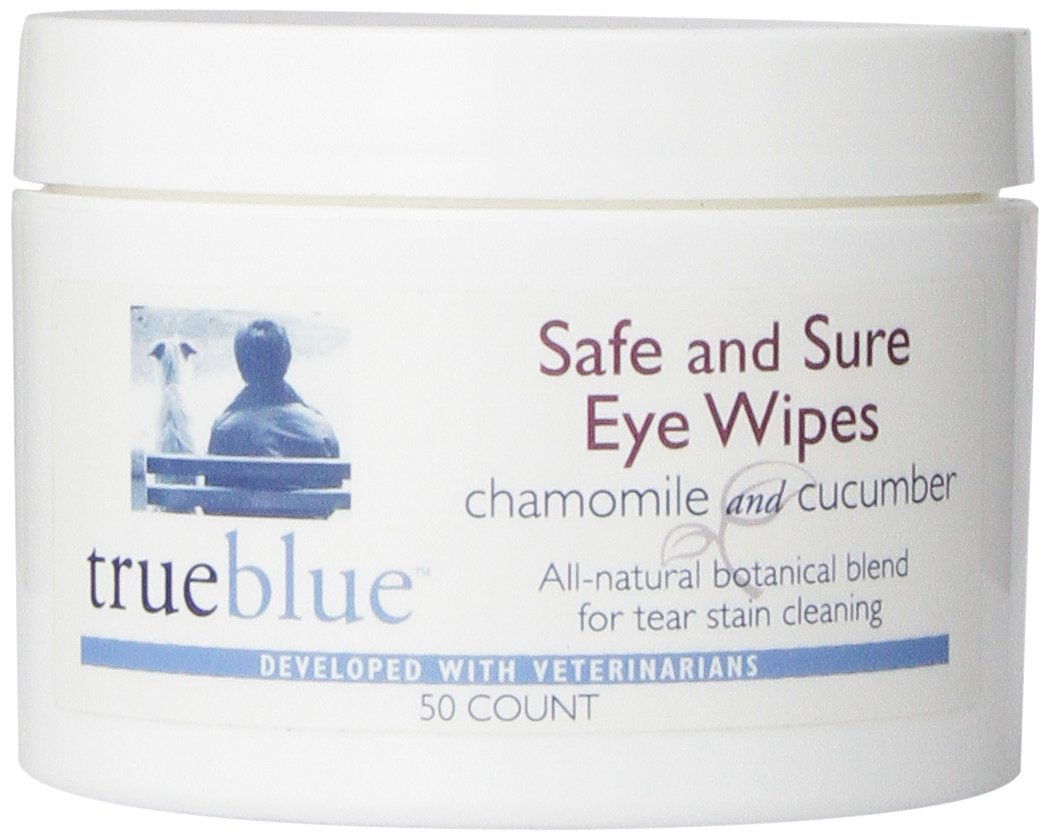 TrueBlue Safe and Sure Eye Wipes 50 Count