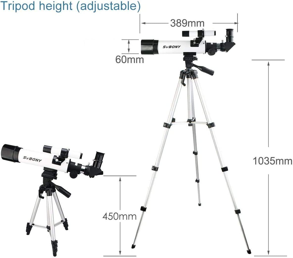 Svbony Sv25 Teleskop Kinder 60 Kamera