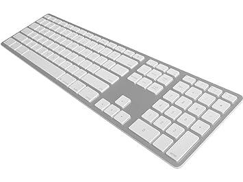 Estados Unidos Matias Bluetooth Teclado de aluminio plata: Amazon.es: Electrónica
