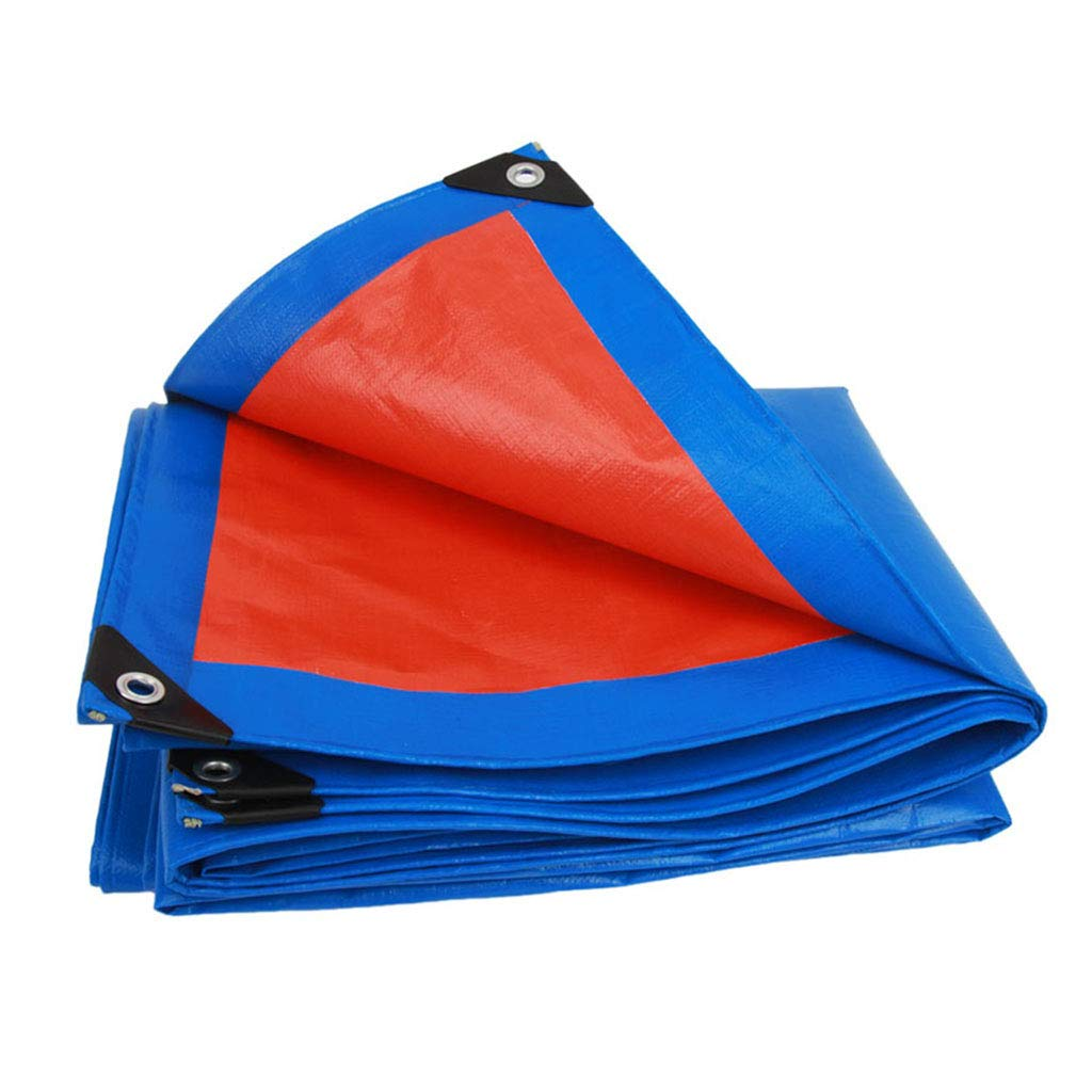 YX-Planen PE-beidseitige Plane Reversible Wasserdichte Mehrzweckausrüstung - 100% wasserdicht und UV-geschützt - Dicke 0,35 mm, 180 g m² B07KSYLSTX Zeltplanen Spezielle Funktion