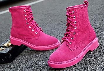 Xeb Botas Martin/ Botines Botas/Moda Invierno Zapatos Boots/ Martin Boots / Botines