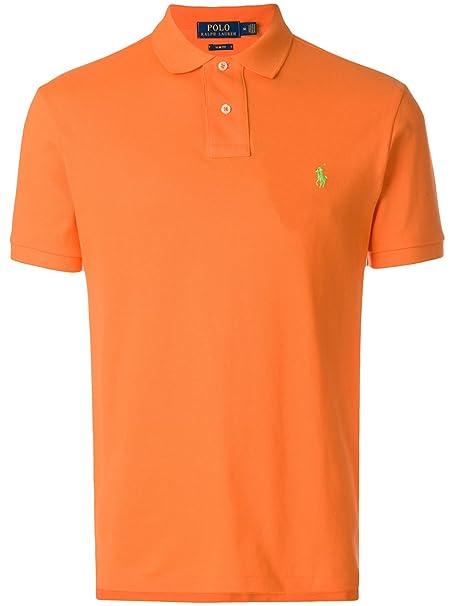 Ralph Lauren Luxury Fashion Hombre 710536856133 Naranja Polo ...