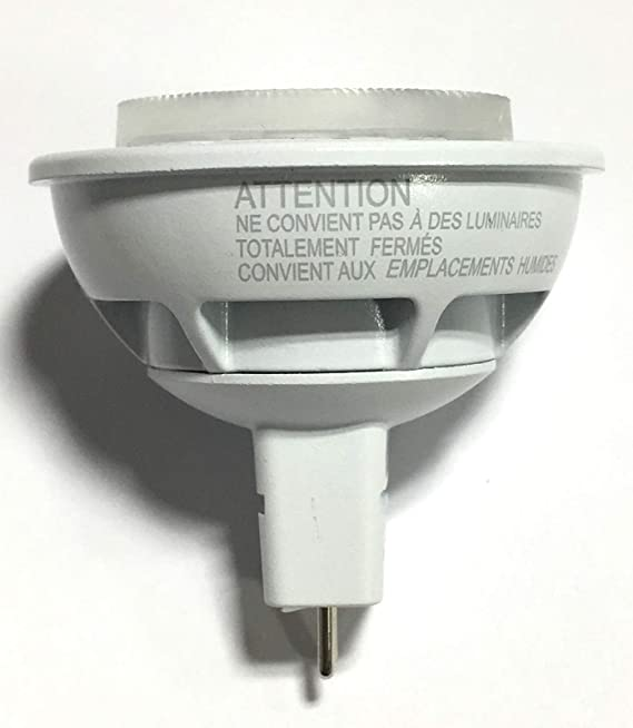... LED MR16 Dimmable Flood & Landscape Light Bulb: 450-Lumens 3000K 6.4-Watt (35-Watt Equivalent) GU5.3 Bi-Pin Base Bright White Light - - Amazon.com