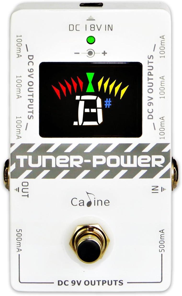 Caline CP-09 - Fuente de alimentación para pedal de afinador