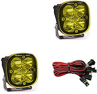product image for Baja Designs 55-7811 Squadron Sport Amber LED Spot Light Bar, Pair