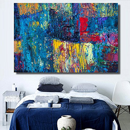 STJK$BMJW Abstract Art Poster Wall Painting Canvas For Home