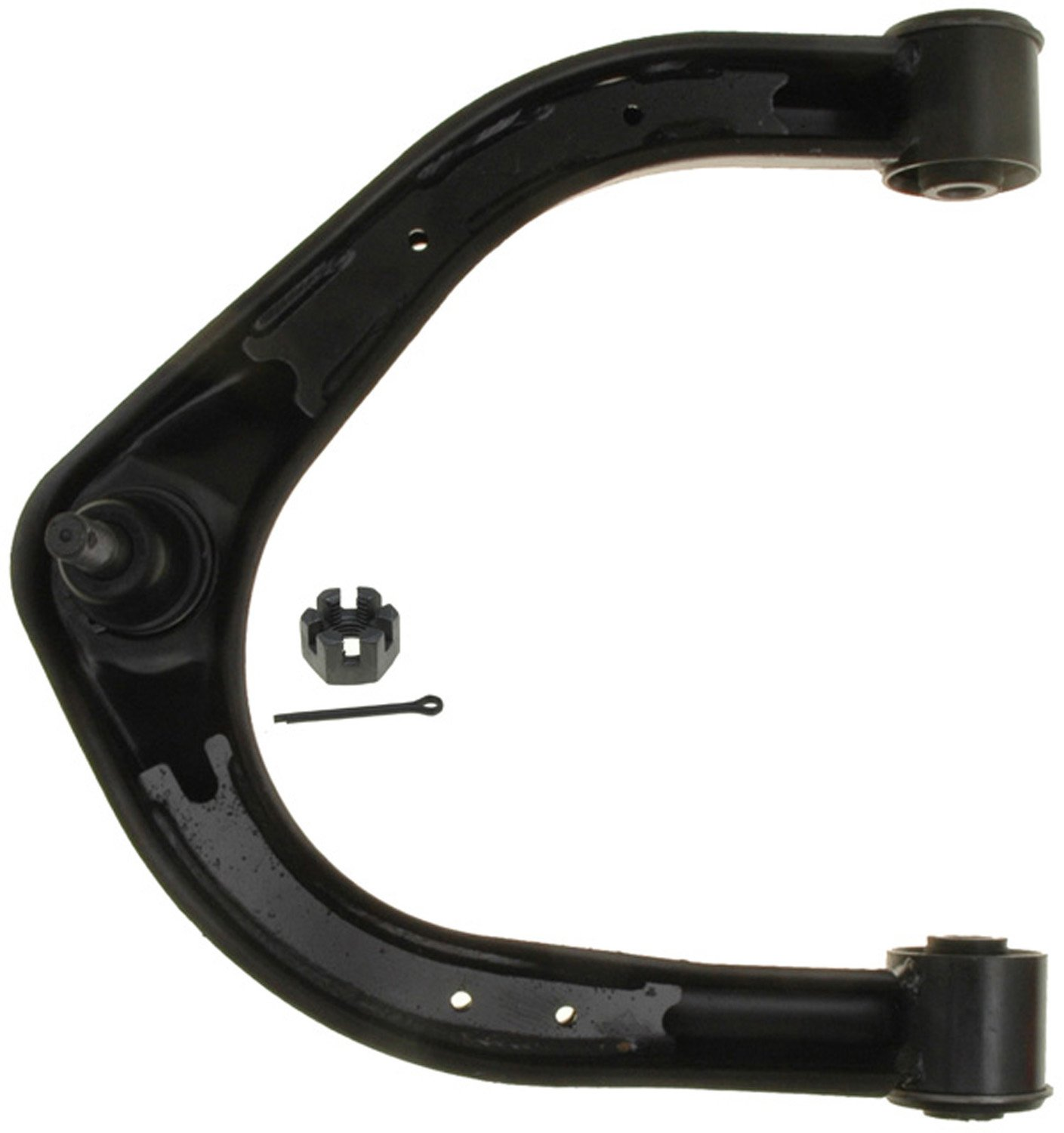 ACDelco 45D1208 Professional Front Driver Side Upper Suspension Control Arm and Ball Joint Assembly