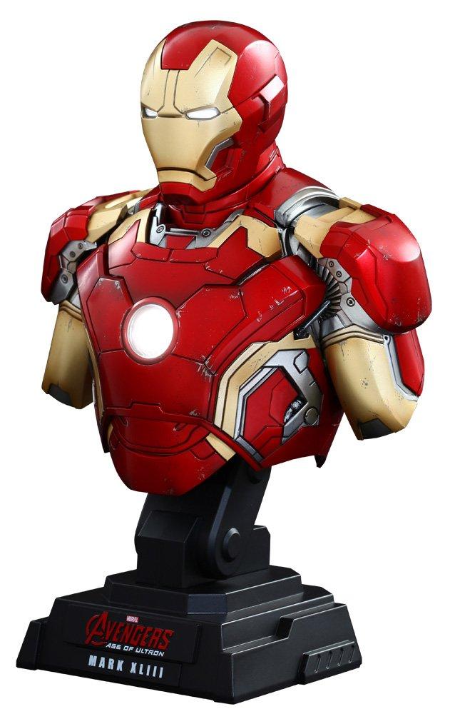 Avengers Age of Ultron Büste 1/4 Iron Man Mark XLIII 23 cm
