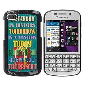 Dragon Case - FOR BlackBerry Q10 - Wine in truth out - Caja protectora de pl??stico duro de la cubierta Dise?¡Ào Slim Fit