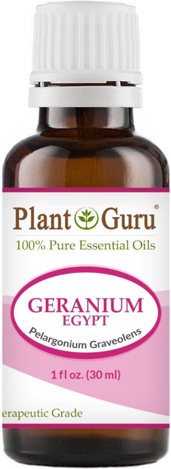 Geranium Egypt Essential Oil 30 ml. (1 oz) 100% Pure Undiluted Therapeutic Grade.