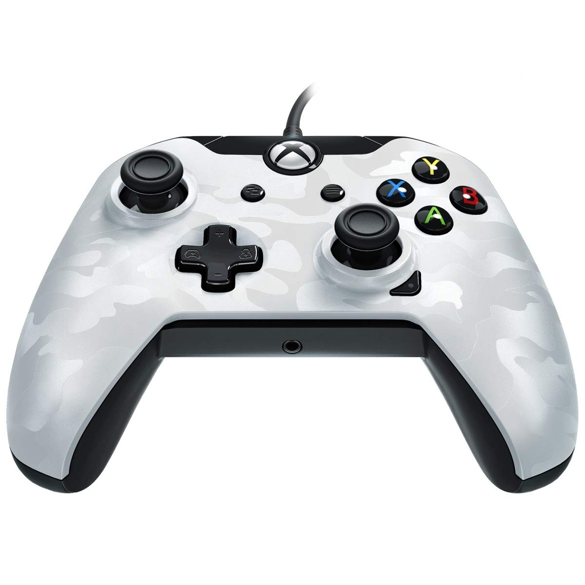 PDP Wired Controller for Xbox One (White Camouflage) product image