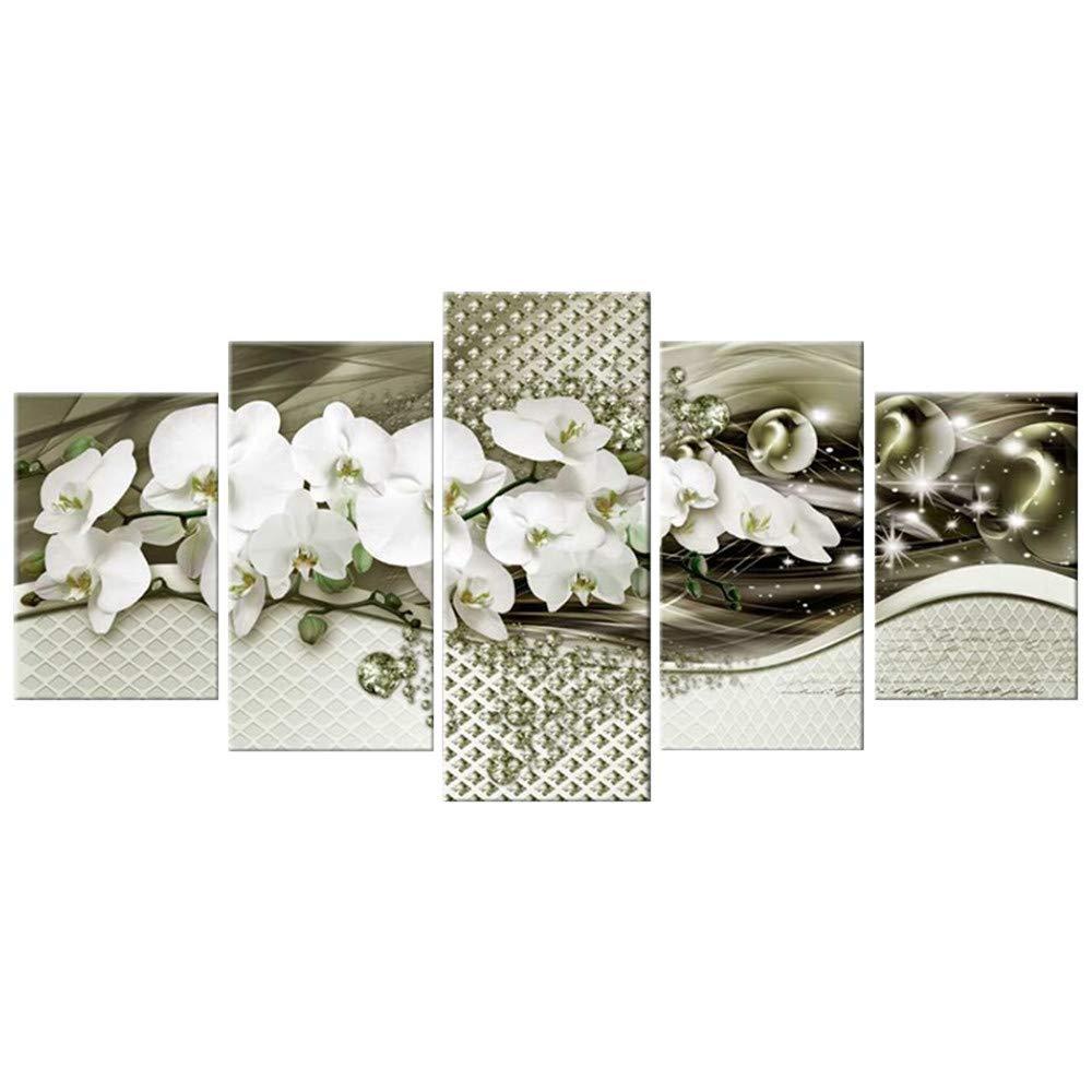 DIY 5D Diamond Painting Kit, Hoshell 5PC Full Drill DIY 5D Diamond Rhinestone Painting Embroidery Cross Crafts Stitch Kits Set Home Decor (B1) by Hoshell_Home