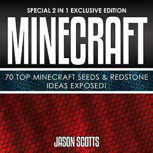 Minecraft: 70 Top Minecraft Seeds & Redstone Ideas Exposed! Audiobook