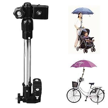 Itaar - Soporte para Paraguas o Sombrilla para Bicicleta, Carrito de bebeé Andador, Silla de Ruedas, Carritos de Golf: Amazon.es: Deportes y aire libre