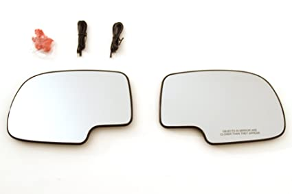 Amazon Driver Passenger Side Mirror Glass Led Turn Signal. Driver Passenger Side Mirror Glass Led Turn Signal Heated Chevy Avalanchesilverado. Chevrolet. 2002 Chevy Tahoe Mirror Parts Diagram At Scoala.co