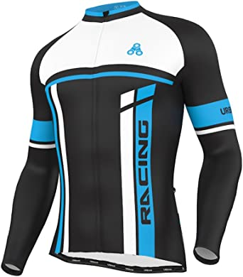 Mens Team Cycling Long Kit Jersey/&Bib Pants Set Long Sleeve Bike Bicycle Tights