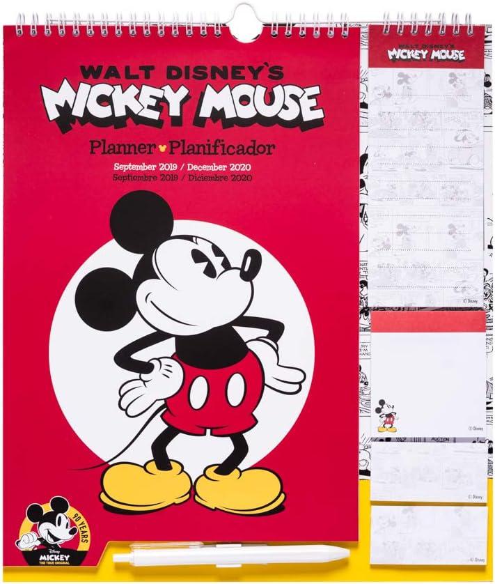 Erik CPF1905 - Planificador mensual familiar 2020 Disney