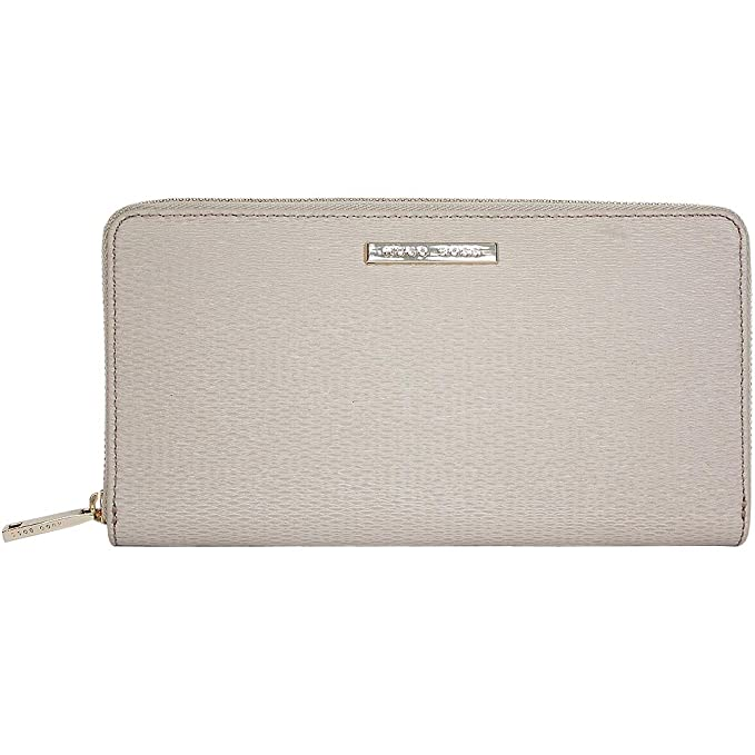 BOSS Hugo Saha 5027348 Small Leather Goo - Cartera para mujer Mujer gris claro: Amazon.es: Zapatos y complementos