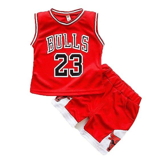 N&G SPORTS Michael Jordan, Camiseta de Baloncesto Infantil, toros, Camiseta Deportiva, Chaleco Transpirable de Secado rápido: Amazon.es: Ropa y accesorios