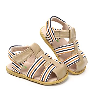 b3940181df Amazon.com | Tipsietoes Brand Summer Beach Sandals Kids Closed Toe Toddler  Children Fashion Designer Shoes for Boys and Girls | Sandals
